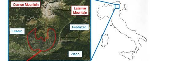 Scritte dei pastori nell'area della Val di Fiemme - Trentino